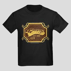 Cheers Logo Kids Dark T-Shirt