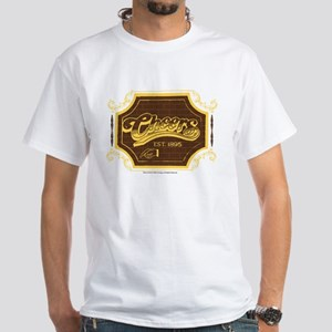Cheers Logo White T-Shirt