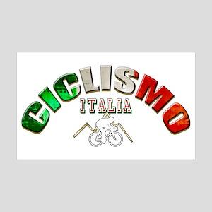 Italia Cycling Wall Decal