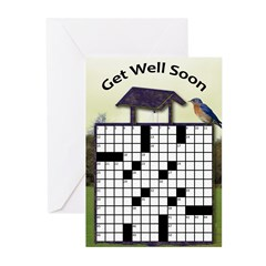 Get 'well' (10) Greeting Cards