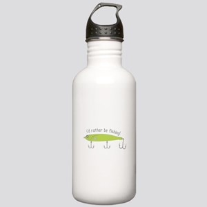 Rather Be Fishing Water Bottle