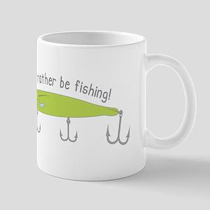Rather Be Fishing Mugs