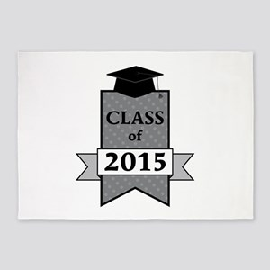Class Of 2015 5'x7'Area Rug