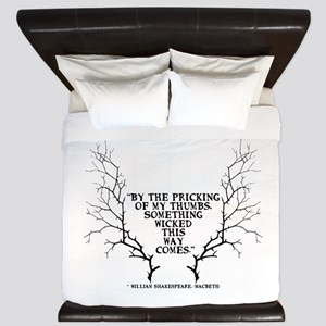 SOmething wicked this way comes King Duvet