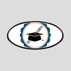 Graduation Cap Patch