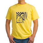Welding Man Yellow T-Shirt