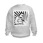 Welding Man Kids Sweatshirt