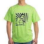 Welding Man Green T-Shirt