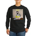 Daddy Diaper Duty Long Sleeve Dark T-Shirt