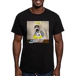 Daddy Diaper Duty Men's Fitted T-Shirt (dark)