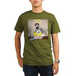 Daddy Diaper Duty Organic Men's T-Shirt (dark)