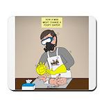 Daddy Diaper Duty Mousepad