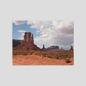 Monument Valley, Utah 3 5'x7'Area Rug