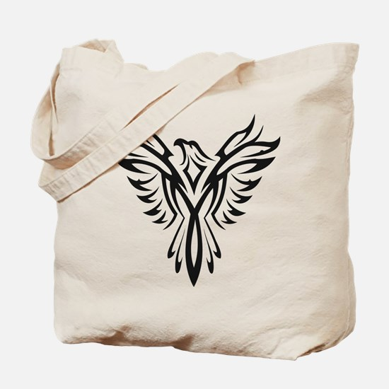 Unique Phoenix bird Tote Bag