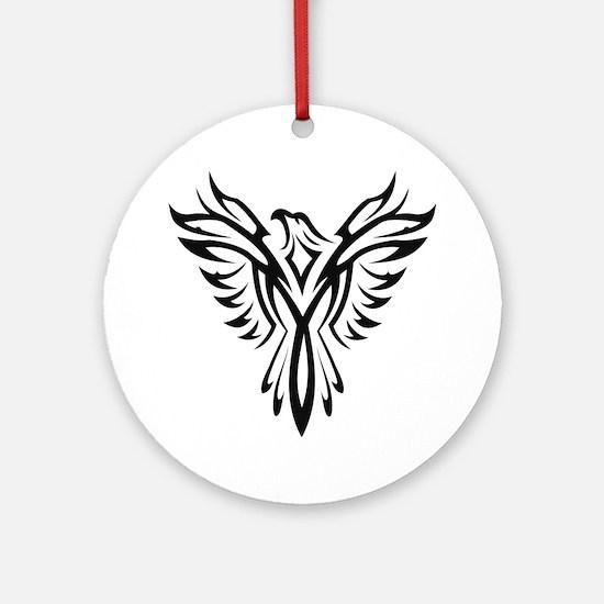 Cute Phoenix Round Ornament