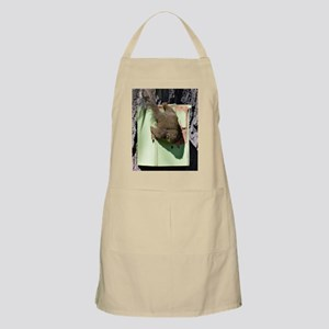 Squirrel In A Bird Feeder Apron