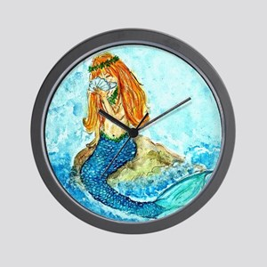 The Mermaid Maiden Wall Clock
