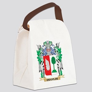 Ciccolini Coat of Arms - Family C Canvas Lunch Bag