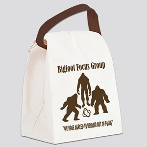 Big Foot Focus Group Canvas Lunch Bag