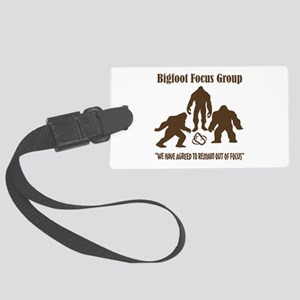 Big Foot Focus Group Large Luggage Tag