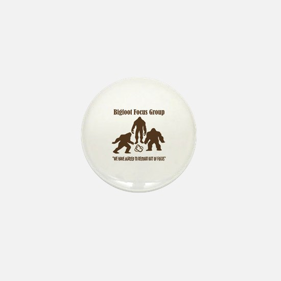 Big Foot Focus Group Mini Button