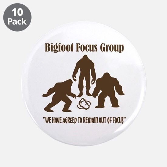 """Big Foot Focus Group 3.5"""" Button (10 pack)"""
