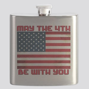 The Fourth Flag Flask