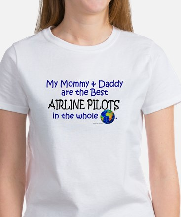 Best Airline Pilots In The World Women's T-Shirt