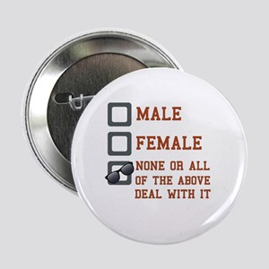 """Funny Gender Neutral 2.25"""" Button"""