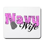Navy Wife Mousepad