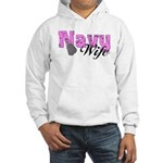 Navy Wife Hooded Sweatshirt