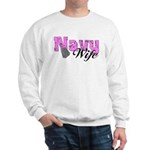 Navy Wife Sweatshirt