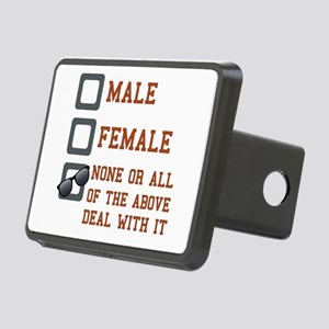 Funny Gender Neutral Rectangular Hitch Cover