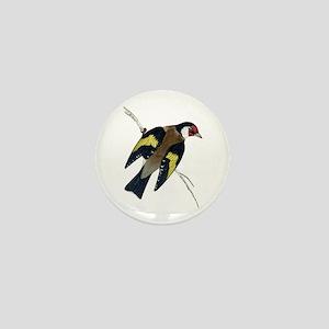 Goldfinch Mini Button