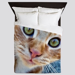 Crazy Kitty Queen Duvet