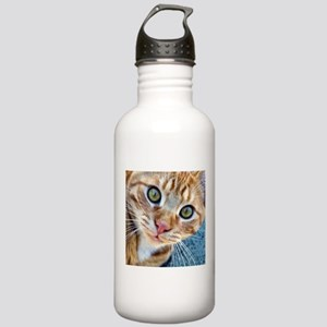 Crazy Kitty Water Bottle