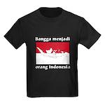 Indonesian Pride Kids Dark T-Shirt
