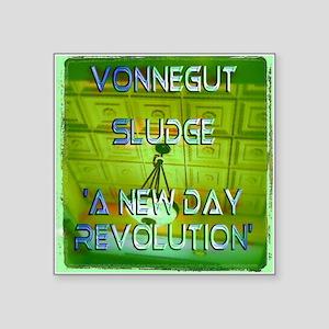 Vonnegut Sludge A New Day Revolution Album Sticker