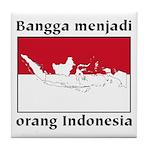 Indonesian Pride Tile Coaster