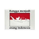 Indonesian Pride Rectangle Magnet (10 pack)