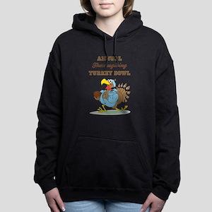 ANNUAL TURKEY BOWL Women's Hooded Sweatshirt