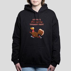 ANNUAL TURKEY TROT Women's Hooded Sweatshirt