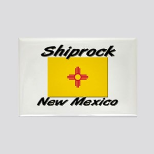 Shiprock New Mexico Rectangle Magnet