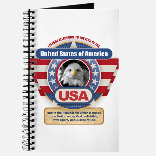 USA Pledge of Allegiance Journal
