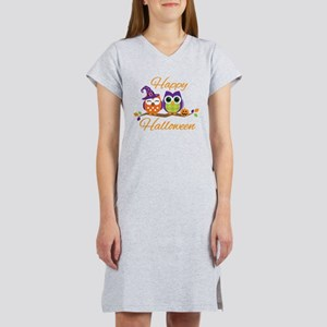 Happy Halloween Owls Women's Nightshirt