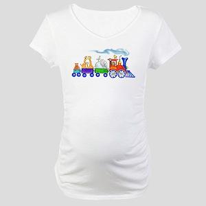 Choo-Choo Train Maternity T-Shirt