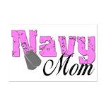 Navy Mom  Mini Poster Print