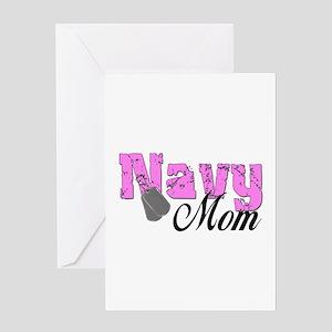Navy Mom Greeting Card