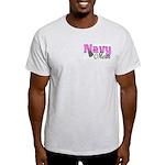 Navy Mom Light T-Shirt