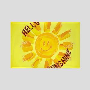 hello sunshine Magnets